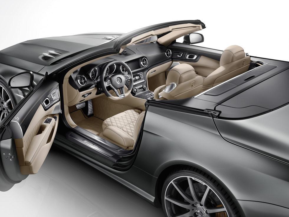 Interior del nuevo Mercedes-Benz SL 65 AMG