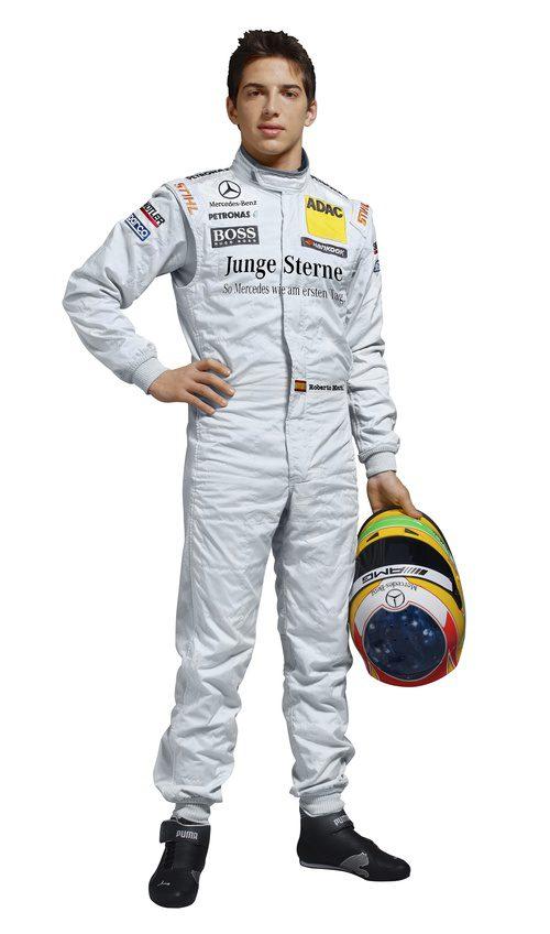 Roberto Merhi, foto oficial para el DTM 2012