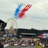 Parrilla de salida de las 24 h de Le Mans 2012