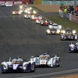 Toyota y Audi luchan por el liderato en Le Mans