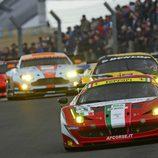 Importante lucha en la categoría GTE Pro de las 24 h de Le Mans