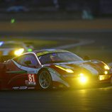 El Ferrari #81 en las 24 h de Le Mans 2012