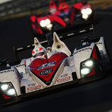 Martin Brundle pilota el Greaves Motorsports Zytek Nissan en las 24 h de Le Mans 2012