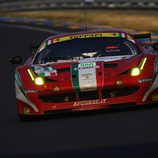 El Ferrari de Fisichella gana las 24 h de Le Mans 2012