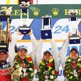 Audi gana las 24 h de Le Mans 2012