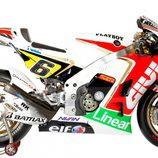 Moto de LCR Honda MotoGP en 2012
