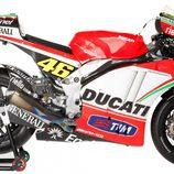 Moto de Ducati Team en 2012