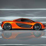 McLaren P1, lateral