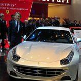 Presentación Ferrari FF en Ginebra