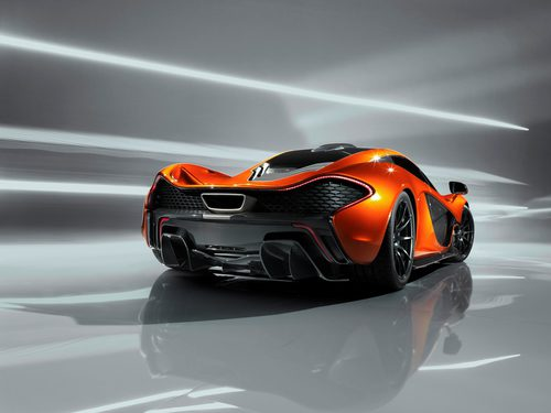 McLaren P1, trasera