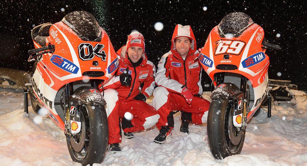Presentación Ducati GP13 frontal
