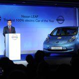 Nissan LEAF coche eléctrico del año