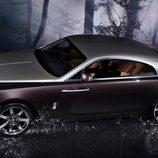 Rolls-Royce Wraith plano cenital