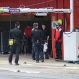 Mecánicos Audi Team Abt