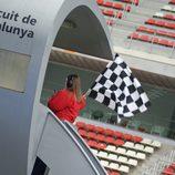 Bandera a cuadros cuarta jornada