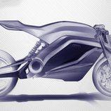 ¿Boceto de una futura moto de Audi?