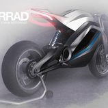 Trasera Audi e-tron Motorbike