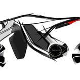 Despiezado Audi e-tron Motorbike