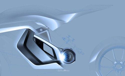 Detalle Audi e-tron Motorbike