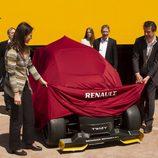 Renault Twizy RSF1 Destapando