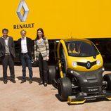 Renault Twizy RSF1 directivos