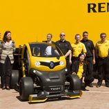 Renault Twizy RSF1 equipo