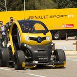 Renault Twizy RSF1 rodando