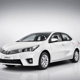 Toyota Corolla Europeo vista frontal-izquierda
