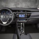 Toyota Corolla Norteamericano vista interior