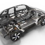 BMW i3 desnudo