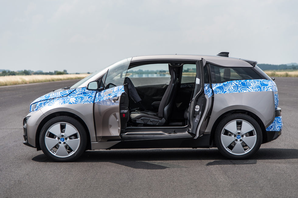 Vista general BMW i3