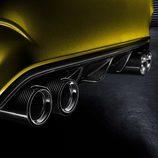 BMW M4 detalle cuatro colas de escape