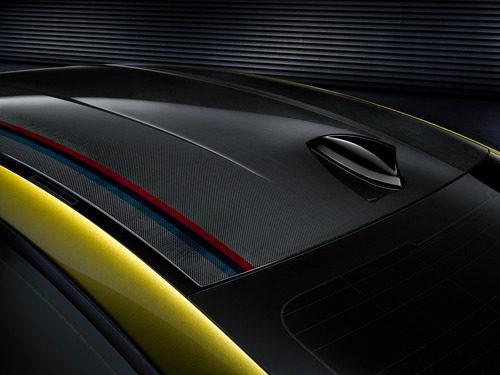 BMW M4 detalle techo