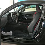 Toyota GT86 detalle del interior