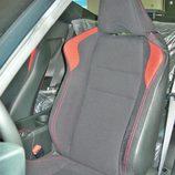 Toyota GT86 detalle de los asientos