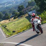 Ducati Panigalle 899 en la Toscana