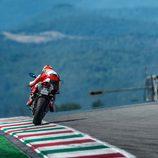 Ducati Panigale 899 en Mugello trasera