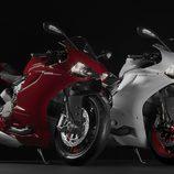 Ducati Panigale 899 roja y blanca
