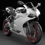 Ducati Panigale 899 blanca completa