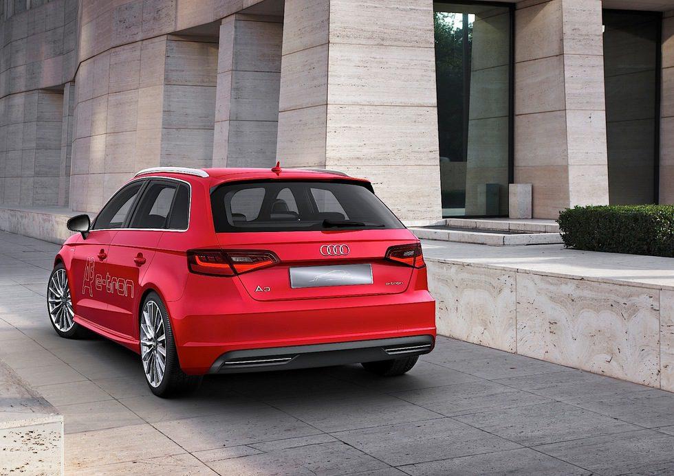 Audi A3 Sportback e-Tron vista trasera