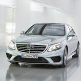 Mercedes Benz S63 AMG (W222) detalle frontal