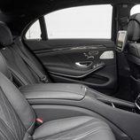Mercedes Benz S63 AMG (W222) detalle asientos traseris