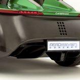 Detalle ópticas traseras Caterham AeroSeven Concept