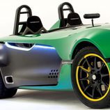 Detalle lateral Caterham AeroSeven Concept