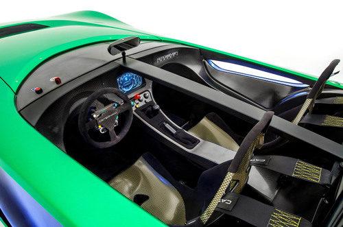 Interior Caterharm Aeroseven Concept
