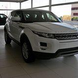 Range Rover Evoque vista frontal derecha