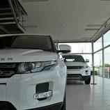 Range Rover Evoque vista detalle frontal