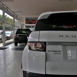 Range Rover Evoque detalle trasera