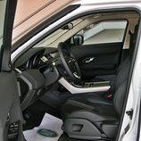 Range Rover Evoque detalle habitáculo