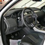 Range Rover Evoque detalle cuadro de mandos